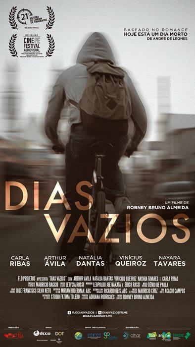 Cartaz digital do longa goiano Dias Vazios.